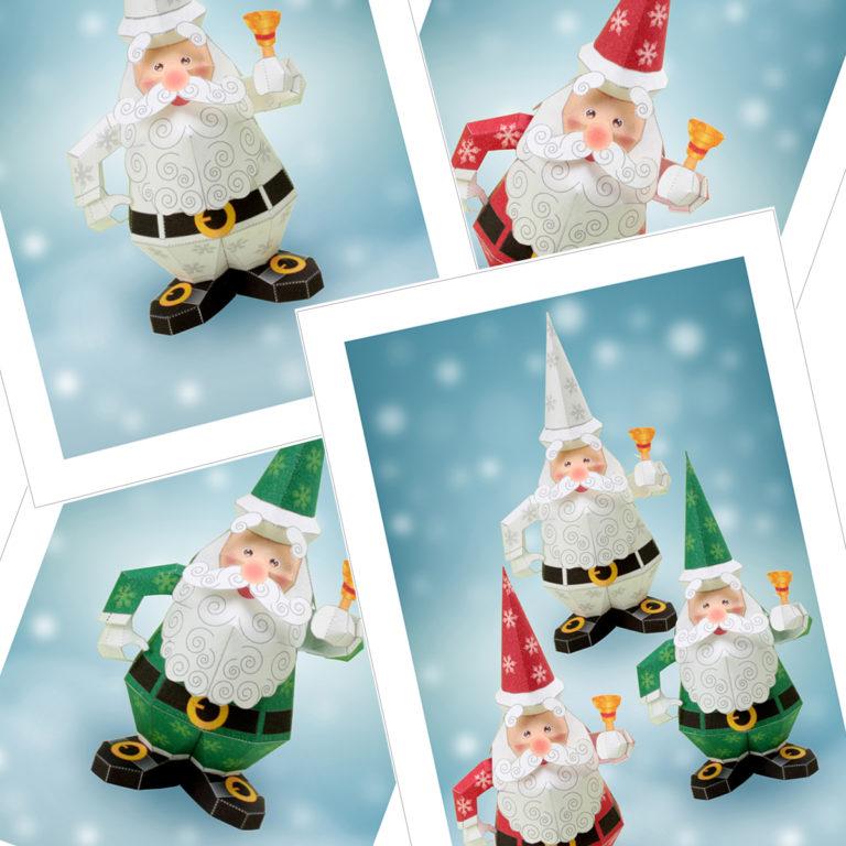クリスマスのノベルティグッズ、ポストカード無料テンプレート02。「クリスマス飾り付けのアイテムDIY」「クリスマスカード」